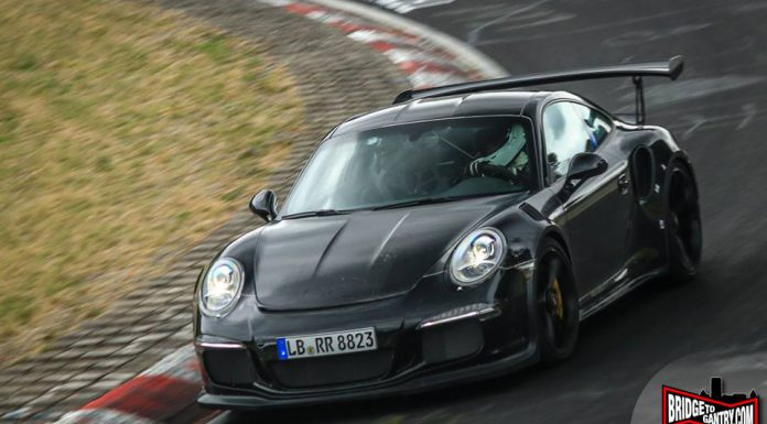 Porsche 911 GT3 RS Test Mule Goes Back to the Nurburgring