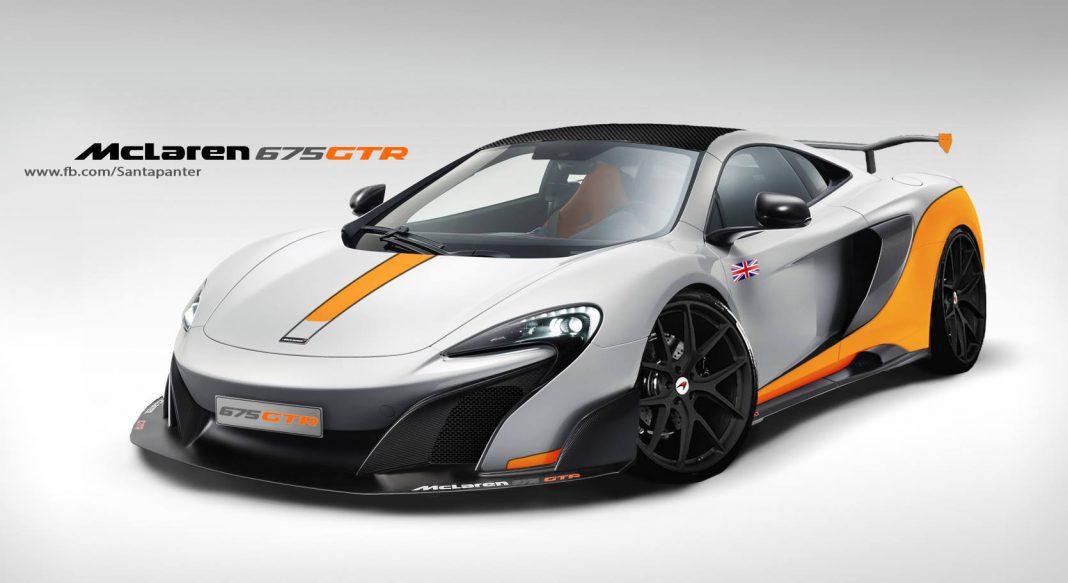 McLaren 675 GTR Comes to Life