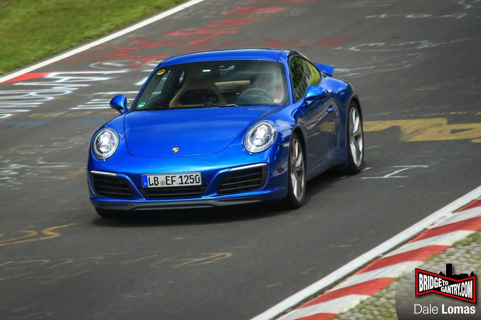 Porsche 911 Facelift front