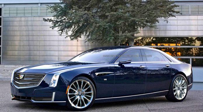 Upcoming Cadillac CT8 rendered