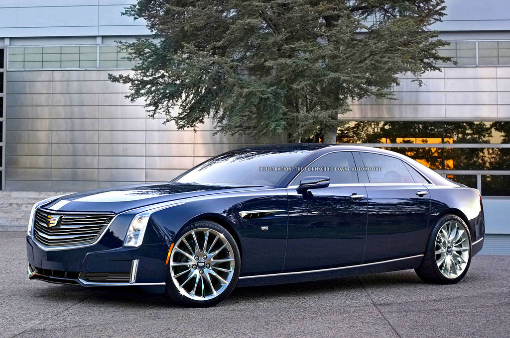 Upcoming Cadillac CT8 Imagined - GTspirit