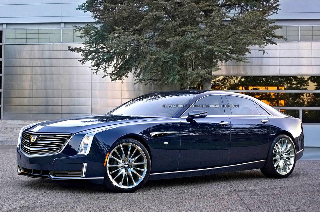 2018 Cts Cadillac >> Upcoming Cadillac CT8 Imagined - GTspirit