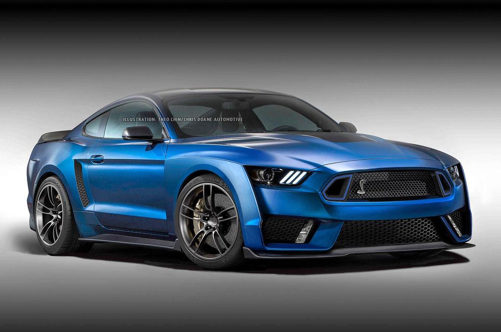 Fan Render 2018 Ford Mustang Gt500 Mustang