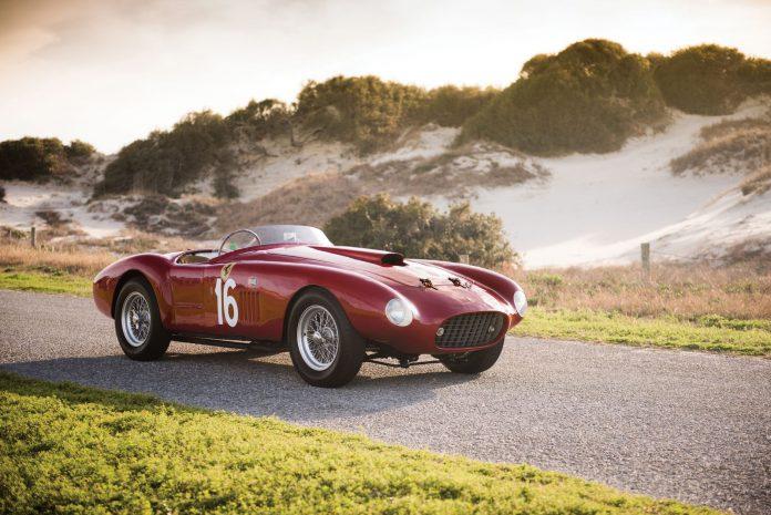 1950 Ferrari 275S340 America Barchetta Scaglietti auction frton