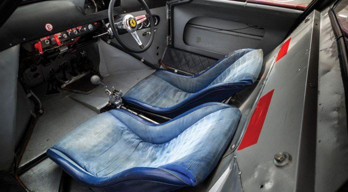 1964 Ferrari 250 LM by Scaglietti interior