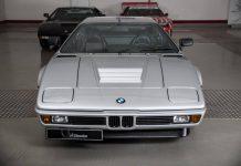 Rare silver BMW M1 For Sale
