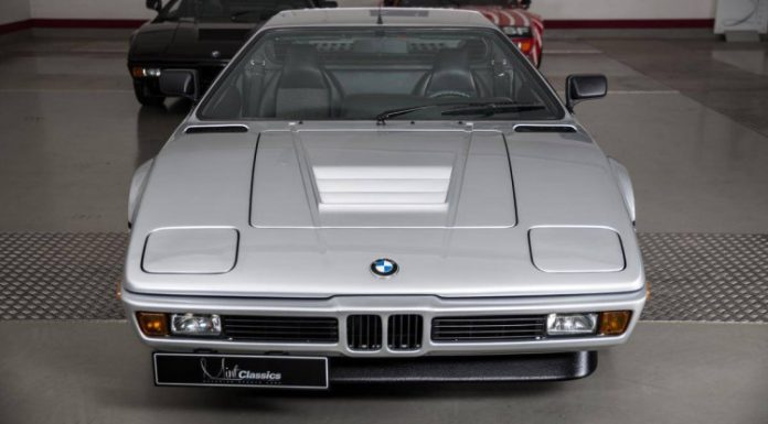 Rare silver BMW M1 For Sale