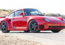 Porsche 959 heading to auction