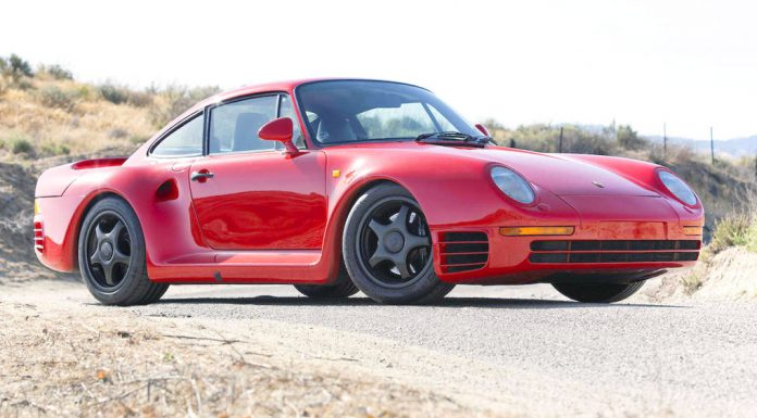Porsche 959 heading to auction