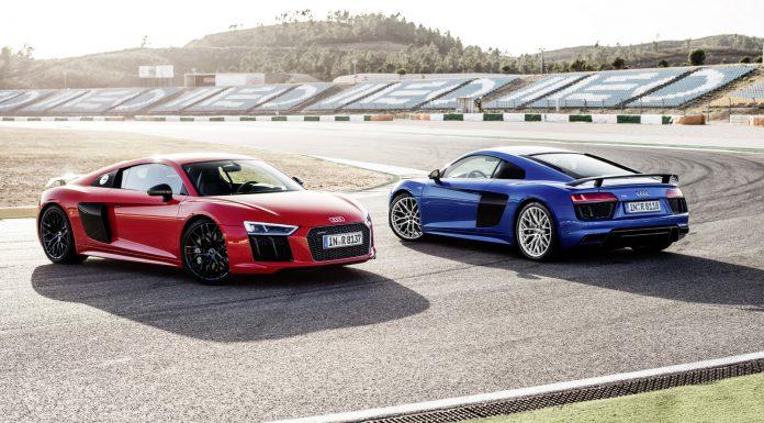 2015 Audi R8 V10 Plus on track front