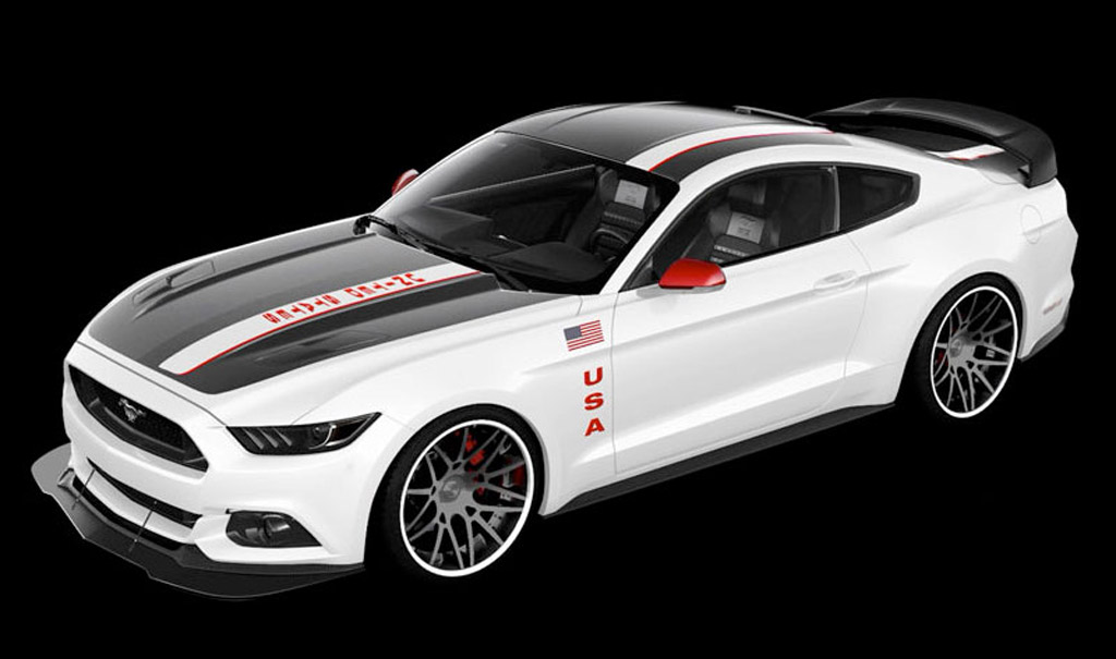 Ford Reveals Special Mustang Apollo Edition Gtspirit