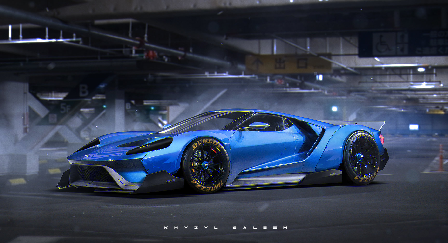 2016 Ford Gt Looks Wild With Liberty Walk Kit Gtspirit
