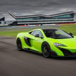 McLaren 675LT green