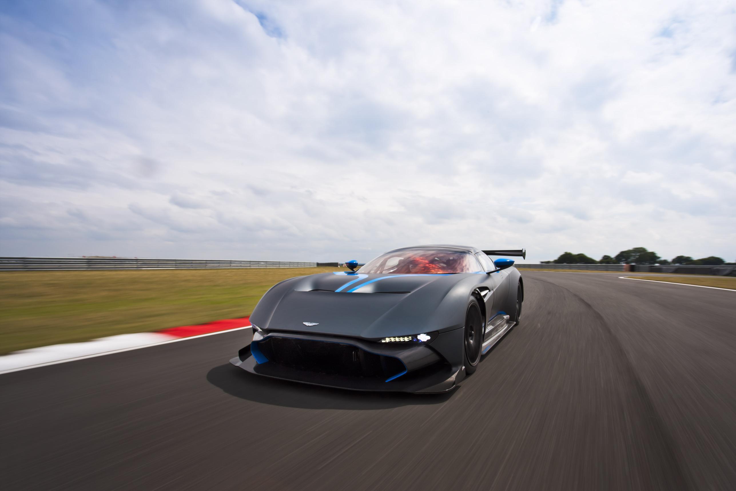 Aston Martin Vulcan To Open 24 Hours Of Spa Race Gtspirit