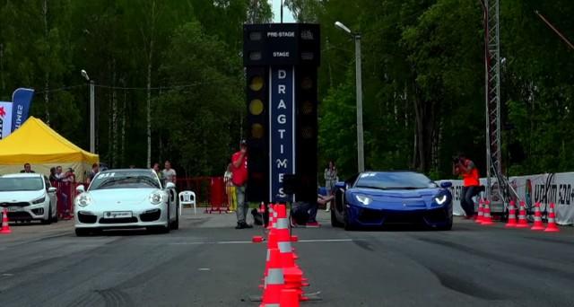 911 vs Aventador