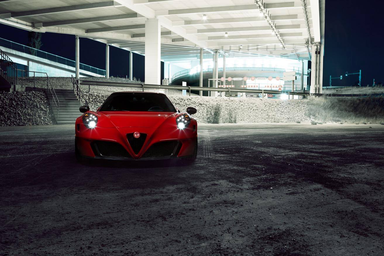Official Alfa Romeo 4c Centurion By Pogea Racing Gtspirit Repair Manual Front