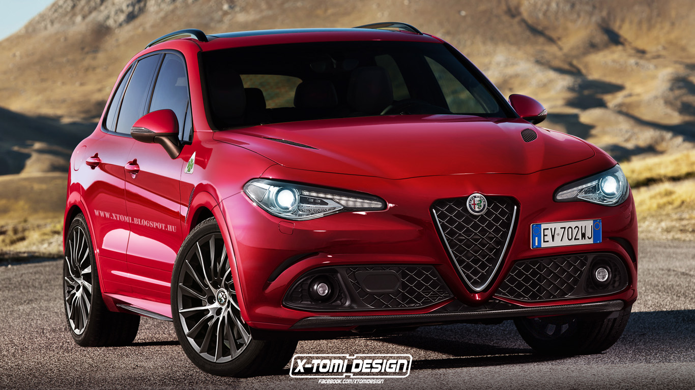 Alfa Romeo SUV Rendered With Giulia Styling