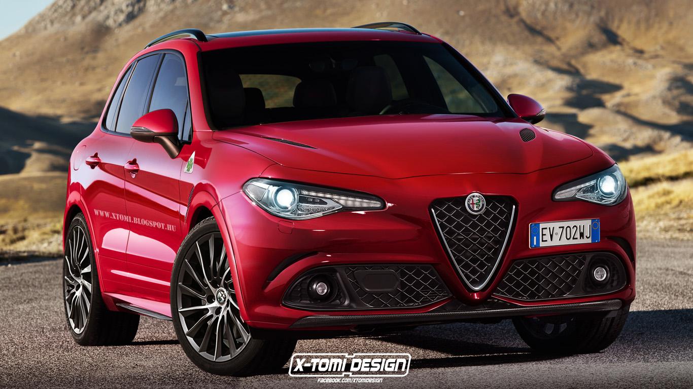 Alfa Romeo Suv >> Alfa Romeo Suv Rendered With Giulia Styling Gtspirit