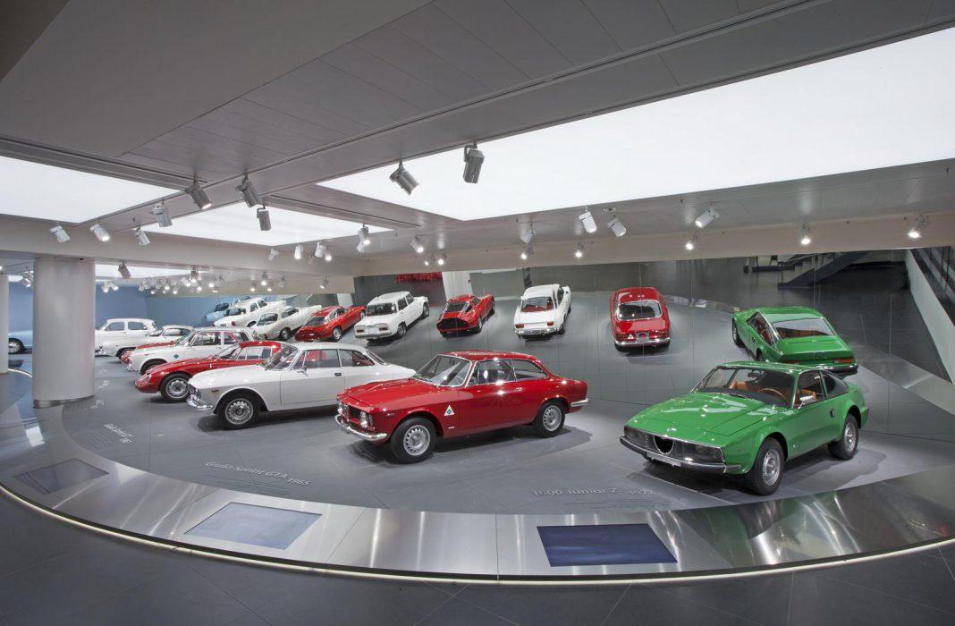 Alfa Romeo museum reopens in Italy