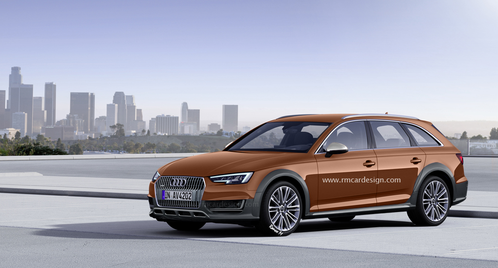 New Audi A4 Allroad Gets Rendered In Style Gtspirit