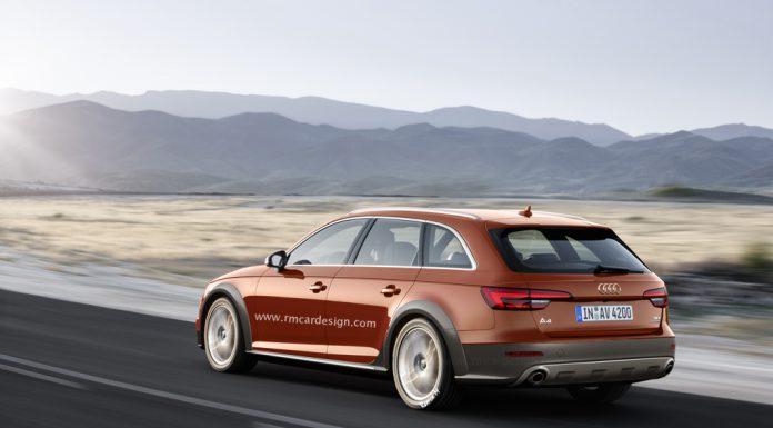 Next-Gen Audi A4 Allroad rendered