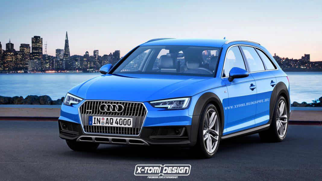 Audi A4 allroad rendering