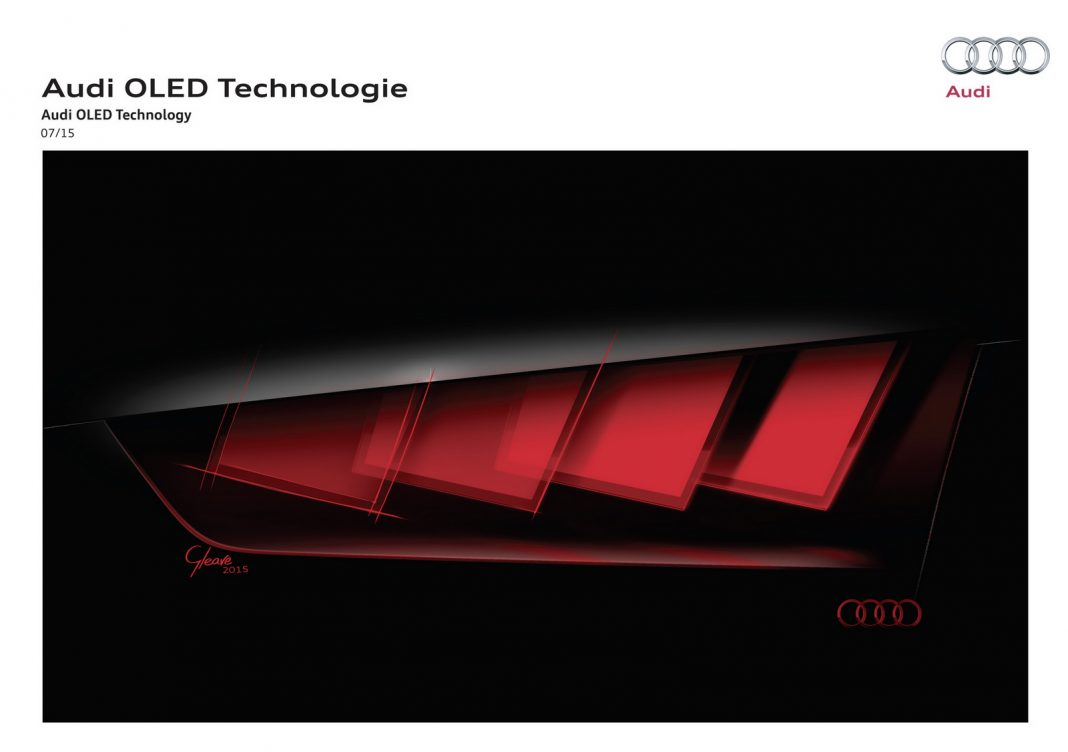 Audi OLED Matrix Frankfurt 2015