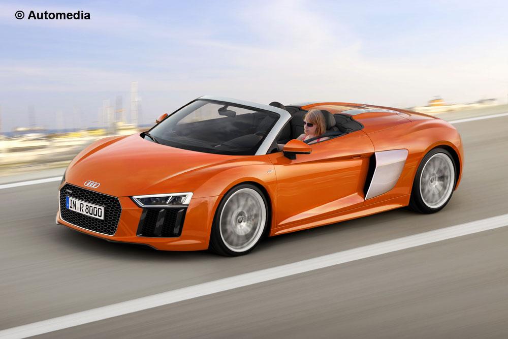 2016 Audi R8 Spyder rendering