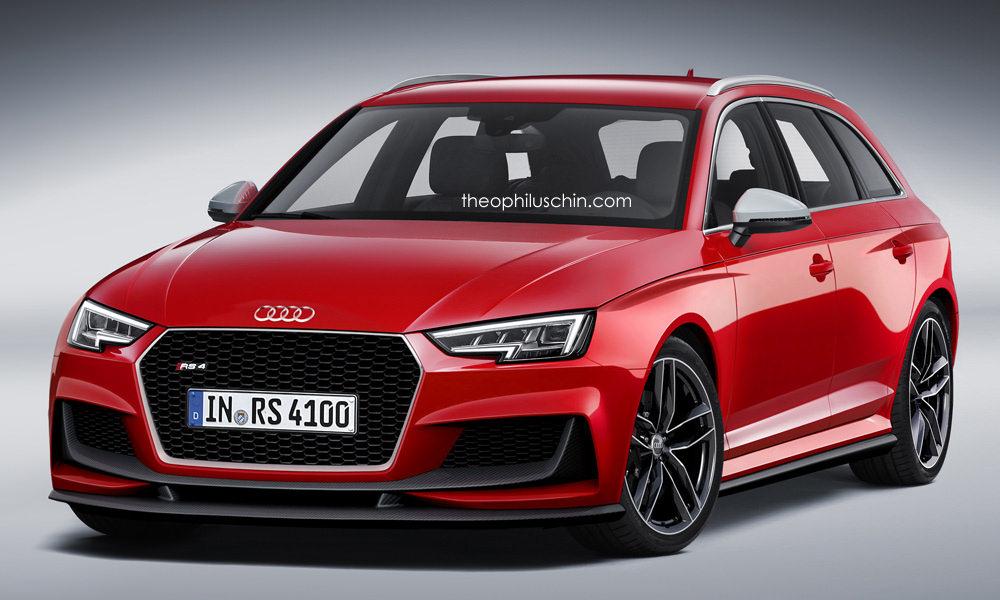 Next-gen Audi RS4 render