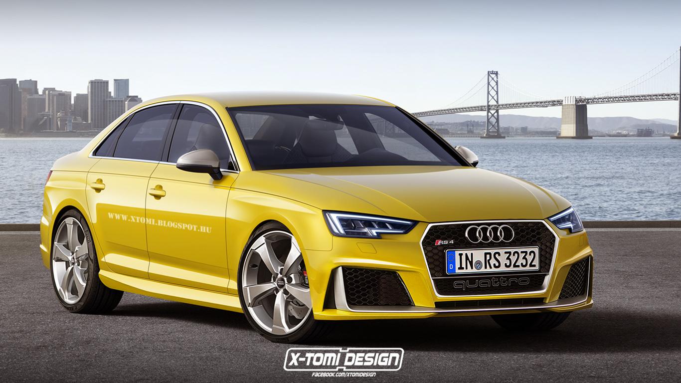 Audi Rs4 2018 Sedan Best New Cars For 2018
