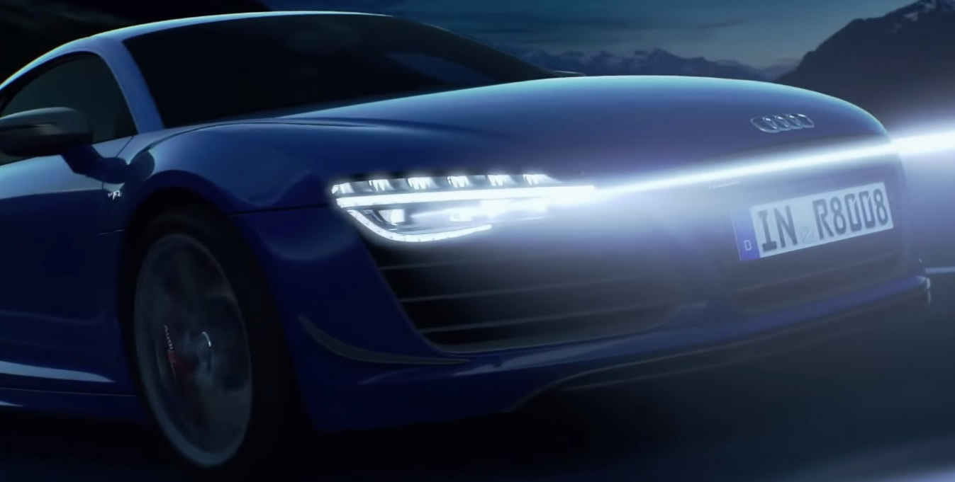Video Audi Shows The Evolution Of Its Headlights Gtspirit