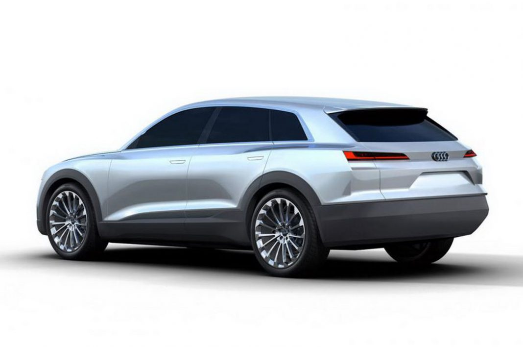 Audi C-BEV Concept Leaked Before Frankfurt 2015 rear
