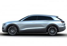 Audi C-BEV Concept Leaked Before Frankfurt 2015 side