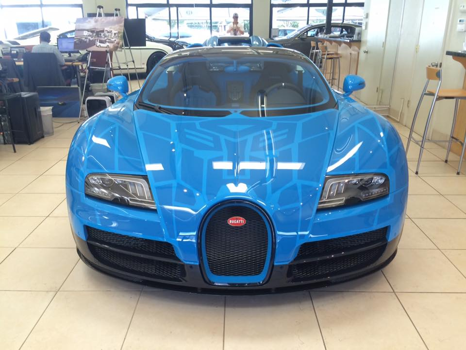 Bugatti veyron grand sport vitesse transformers - photo#2