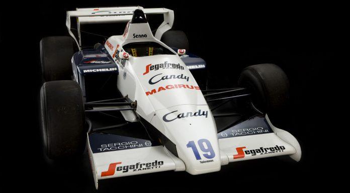 Ayrton Senna's Toleman Formula One Car For Sale