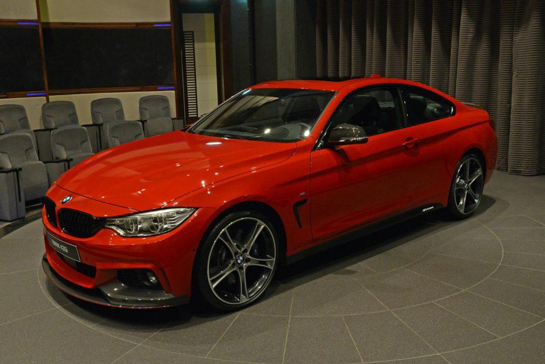 BMW 435i M Sport front