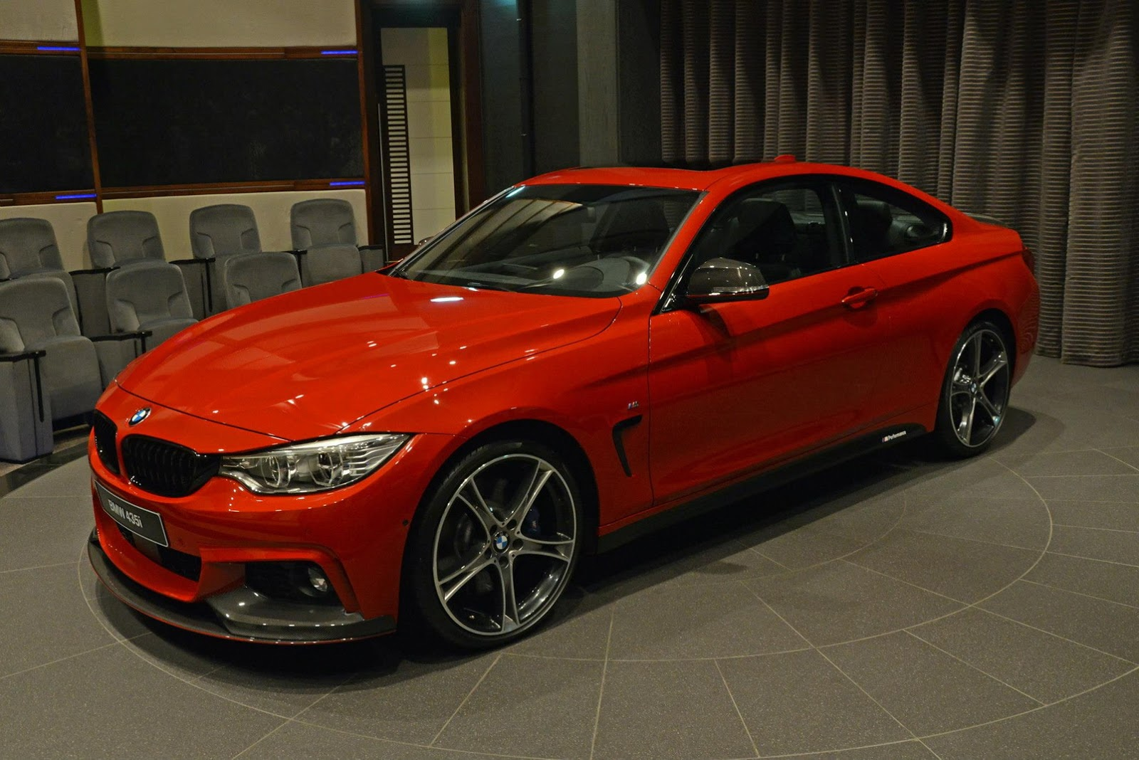 special bmw 435i m sport arrives in abu dhabi gtspirit. Black Bedroom Furniture Sets. Home Design Ideas