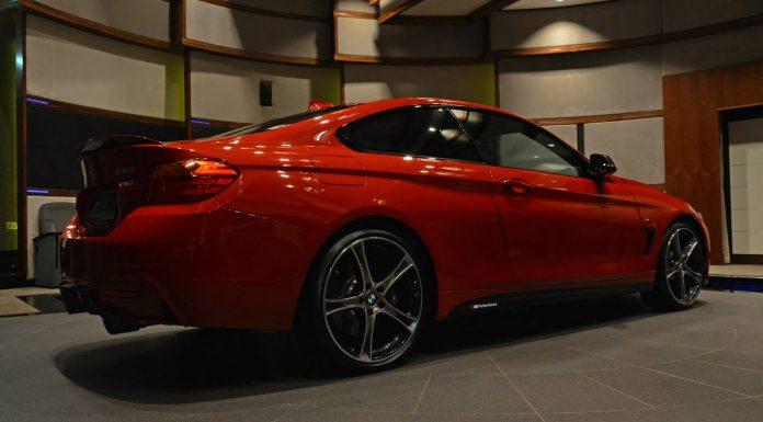 BMW 435i M Sport rear