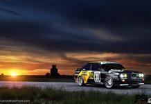 Matte Black BMW E30 M3 DTM Replica by PSI