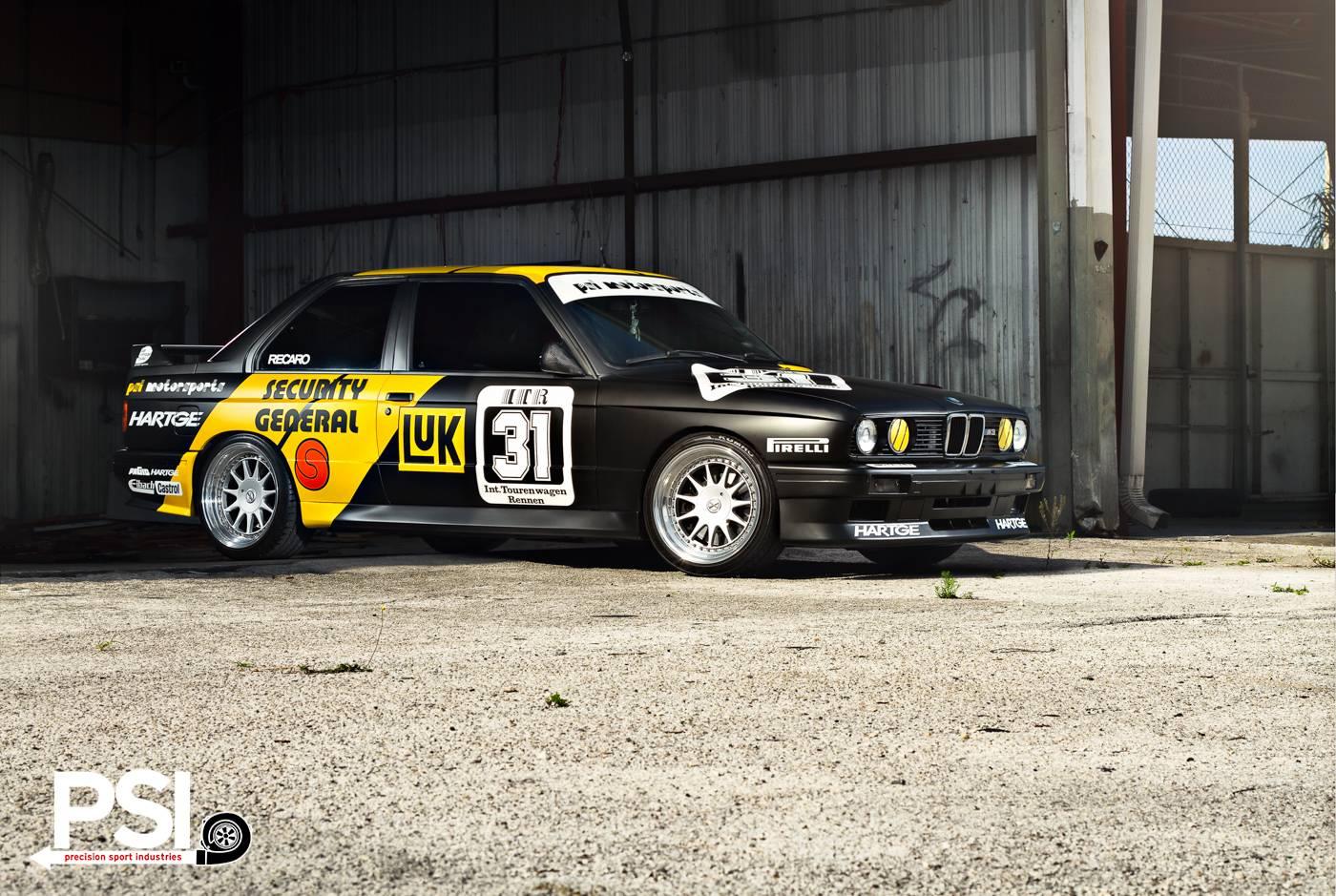 Matte Black Bmw E30 M3 Dtm Replica By Psi Gtspirit