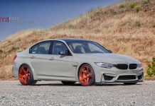 Grey BMW F80 M3 Stuns on Bronze HRE Wheels