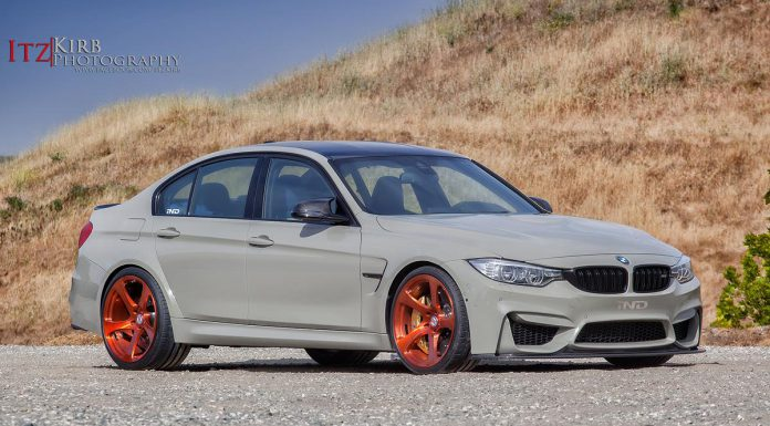Grey BMW F80 M3 Stuns on Bronze HRE Wheels