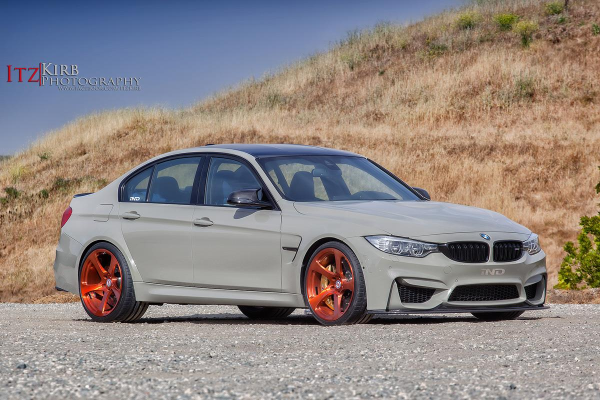 grey bmw f80 m3 stuns on bronze hre wheels gtspirit. Black Bedroom Furniture Sets. Home Design Ideas