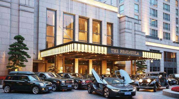 Peninsula Shanghai adds a BMW i8 to its fleet