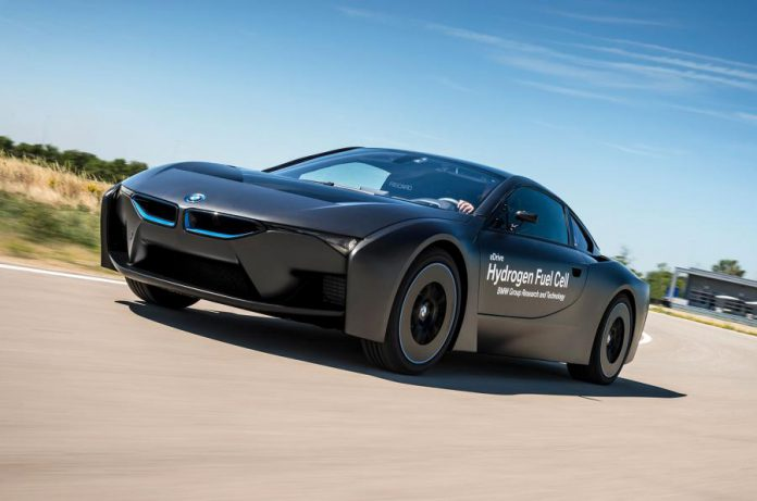 BMW working on hydrogen model for after 2020
