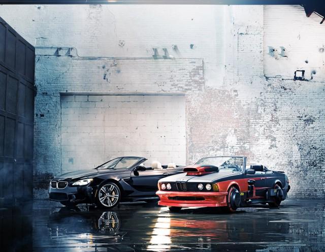 Back to The Future BMW 633CSi Hero Car Meets Modern M6