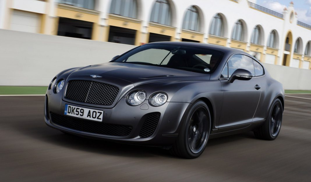 Bentley not creating new Continental Supersports