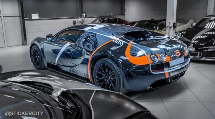 Black Chrome Bugatti Veyron Super Sport by StickerCity