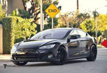 Black on Black Tesla Model S by T Sportline