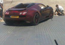 Bugatti Veyron Vitesse LaFinale rear